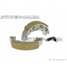 brake shoe set 100x20mm pentru drum brake pentru Piaggio Free, NRG, TPH, Typhoon 50, Zip Base 25, 50