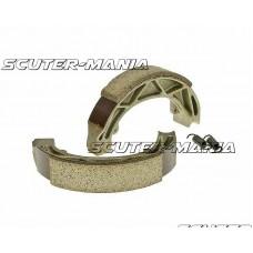 Set saboti frana 140x25mm pentru frana cu tambur pentru Aprilia 50 Scarabeo, Piaggio 50 Fly, Liberty, Vespa 50 Primavera