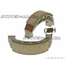 Set saboti frana 110x25mm pentru frana cu tambur pentru Gilera Runner, Piaggio NRG, ZIP, Vespa S50