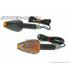 indicator light set M10 thread black Crystal transparent
