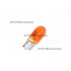 Bec semnalizare portocaliu (baza din sticla) WY5W W2,1x9,5d 12V 5W