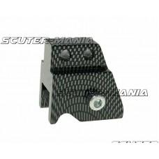 Inaltator amortizor spate CNC 2-hole adjustable mounting - carbon look pentru Minarelli
