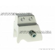 Inaltator amortizor spate CNC montare reglabila 2 gauri - argintiu pentru Minarelli