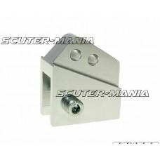Inaltator amortizor spate CNC montare reglabila 2 gauri - aspect platina pentru Peugeot vertical