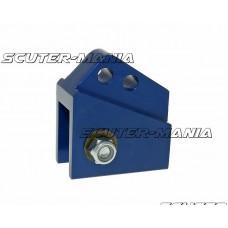 Inaltator amortizor spate CNC 2-hole adjustable mounting - blue pentru Peugeot vertical