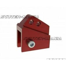 Inaltator amortizor spate CNC montare reglabila 2 gauri - rosu pentru Peugeot vertical