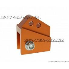Inaltator amortizor spate CNC 2-hole adjustable mounting - orange pentru Peugeot vertical
