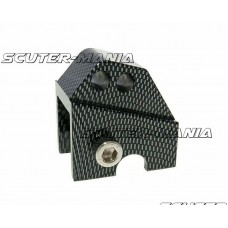 Inaltator amortizor spate CNC 2-hole adjustable mounting - carbon look pentru Piaggio