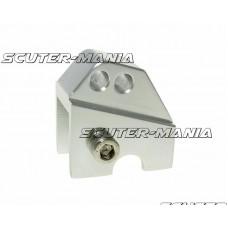 Inaltator amortizor spate CNC montare reglabila 2 gauri - aspect platina pentru Piaggio