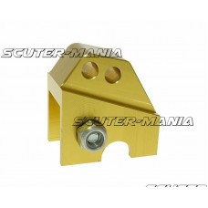 Inaltator amortizor spate CNC 2-hole adjustable mounting - gold in color pentru Piaggio