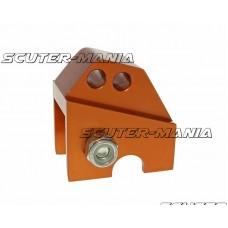 Inaltator amortizor spate CNC 2-hole adjustable mounting - orange pentru Piaggio