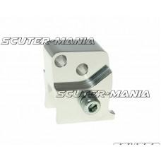 Inaltator amortizor spate CNC 2-hole adjustable mounting - platinum look pentru Peugeot orizontal
