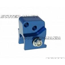 Inaltator amortizor spate CNC 2-hole adjustable mounting - blue pentru Peugeot orizontal