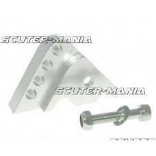 Inaltator amortizor spate CNC montare reglabila 4 gauri - argintiu pentru Minarelli orizontal