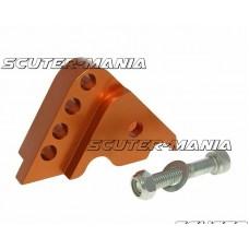 Inaltator amortizor spate CNC montare reglabila 4 gauri - portocaliu pentru Minarelli orizontal