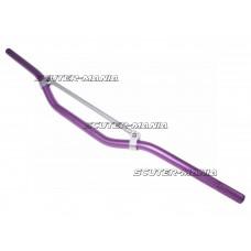 Ghidon MX aluminiu cu bara transversala, violet 22mm - 810mm