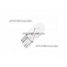 Bec semnalizare transparent (cu baza sticla) W3W (T10) W2,1x9,5d 12V 3W - Vicma
