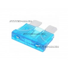 blade fuse flat 19.2mm 15A blue in color
