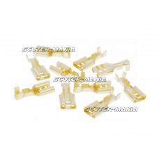 Conectori cablu plati (mufa mama) - 10 bucati - Vicma
