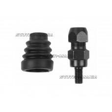 mirror adapter M8 left-hand thread pentru mirror w/o thread pentru Aprilia Rally, Scarabeo 50-100