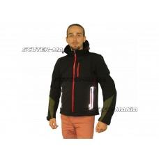 motorcycle jacket X-Guard softshell hoodie marime M