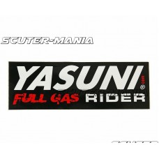 Abtibild Yasuni Full Gas Rider 110x38mm