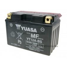 Acumulator (baterie) Yuasa YT12A-BS DRY MF (fara mentenanta)