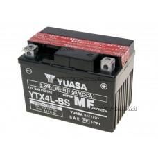 Acumulator (baterie) Yuasa YTX4L-BS DRY MF (fara mentenanta)