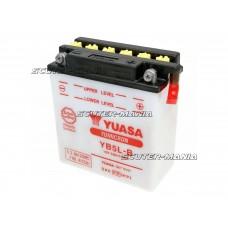 Acumulator (baterie) Yuasa YuMicron YB5L-B (fara solutie electrolit)
