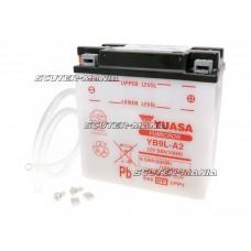 Acumulator (baterie) Yuasa YuMicron YB9L-A2 (fara solutie electrolit)