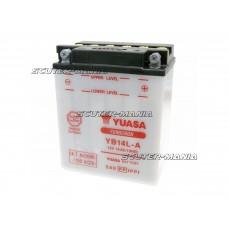 Acumulator (baterie) Yuasa YuMicron YB14L-A (fara solutie electrolit)